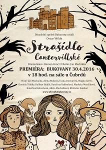 Strašidlo Cantervillské - plakát premiéra